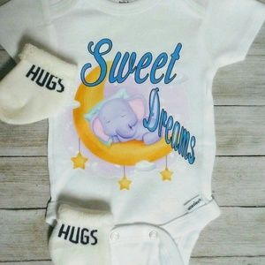 Sweet dreams baby onesie kids clothes